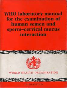 WHO manual 1992 badanie nasienia
