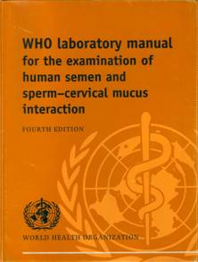 WHO manual 1999 badanie nasienia