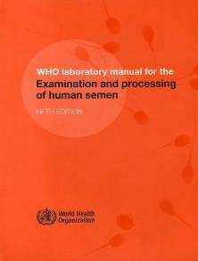 WHO manual 2010 badanie nasienia